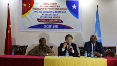 Photo of Somali students receive scholarships to enhance education in China