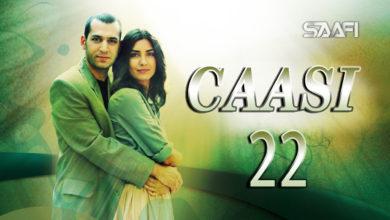Photo of Caasi Part 22 Musalsal Turki Af Soomaali