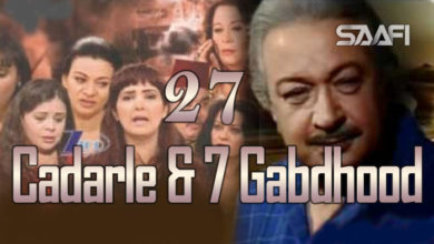 Photo of Cadarle & 7 Gabdhood Part 27 – Nuur Shariif