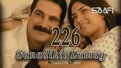 Photo of Sanadihii Lumay Part 226
