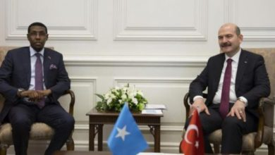 Photo of Somali Security Minister Meets With Turkish Interior Minister
