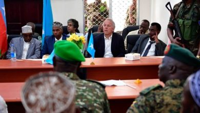 Photo of AU Special Representative for Somalia joins high-level government delegation on a security assessment visit to Barawe
