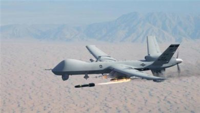 Photo of An Airstrike Hits Al Shabaab Stronghold Area In Somalia ,