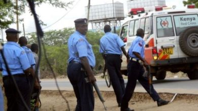 Photo of Four Kenyan Police Officers Killed In Lamu Attack