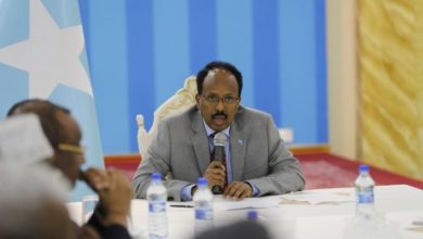Photo of Somali president condemns Friday's mosque attack in Egypt