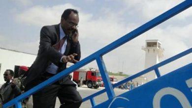 Photo of Somali President Heading To United Arab Emirates