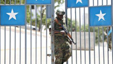 Photo of Al-Shabaab fires motors on Villa Somalia
