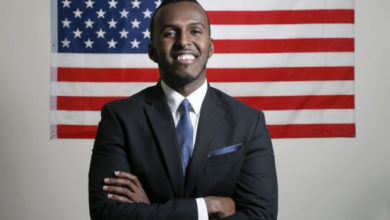 Photo of Somali refugee passes bar exam, runs for Ohio House