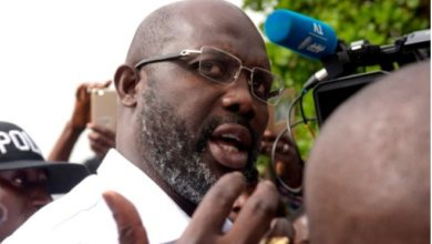 Photo of George Weah claims he is set to win Liberia's presidential election