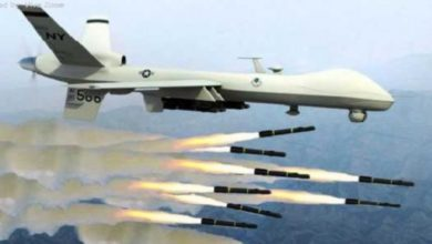 Photo of Suspected US Drone Carries Out An Airstrike On Al Shabaab Base