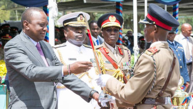 Photo of President Kenyatta Lauds KDF For Keeping Kenya Safe