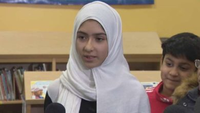 Photo of 'I felt really scared:' Toronto girl says man tried to cut off her hijab while she walked to school