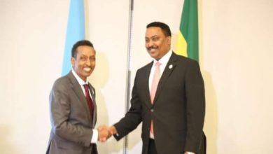 Photo of Somalia's foreign Minister meets his Ethiopian counterpart in Addis Ababa