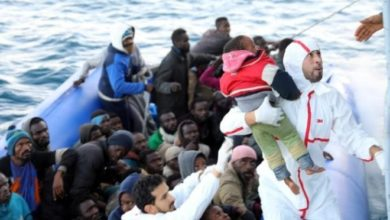 Photo of Up to 64 migrants drown in weekend sinking off Libya -NGOs