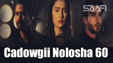 Photo of Cadowgii Nolosha Part 60 Musalsal Hindi Af Soomaali