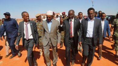 Photo of Somali President Mohamed Abdullahi Farmajo Arrives Back To Adado