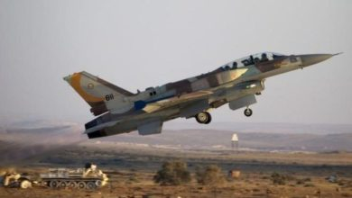 Photo of Israeli fighter jet crashes under Syria fire, military says