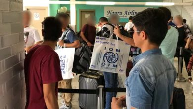Photo of Fourth group of refugees set to leave Nauru for the US