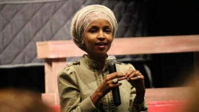 "Photo of Ilhan Omar, First Somali-American State Lawmaker: Trump's SOTU was ""Disgusting"" & ""Fascist"""