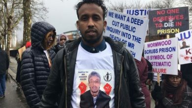 LONDON: Crowd pickets Wormwood Scrubs demanding justice following death of inmate