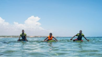 Photo of Surfing and yoga on the beach is helping heal victims of Somalia's war