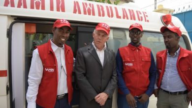 Photo of UN envoy for Somalia urges more support for country's only free ambulance service