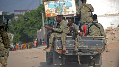 Photo of Two Somalia soldiers killed in roadside blast