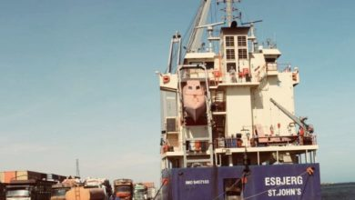 Protected World Food Programme Vessel Arrives In Mogadishu