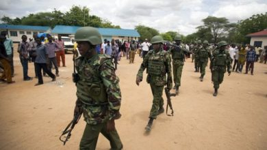 Photo of Kenyan police vow to enhance fight against terrorism