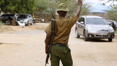 5 police officers killed by suspected Al-Shabaab militants in northeast Kenya