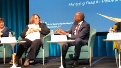 PM Khaire addresses Fragility Forum in Washington