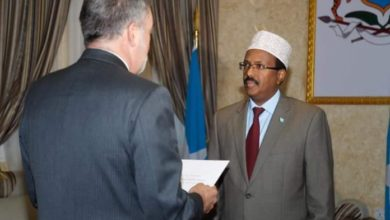 Farmajo Receives Credentials From New Spanish Ambassador