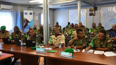 AMISOM Deputy Head urges military commanders to implement the Mission's transition plan