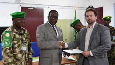AMISOM campaigns against IEDs in Somalia