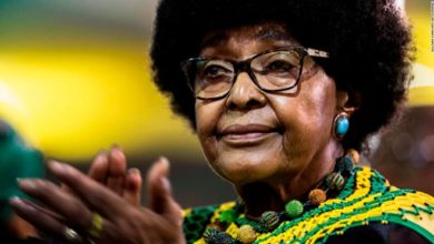 Photo of Winnie Mandela, South African anti-apartheid crusader, dies at 81