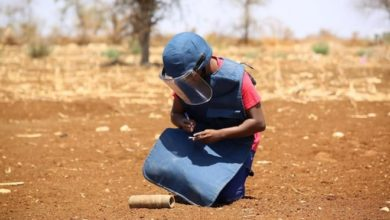 Photo of 'Increasing awareness about explosive hazards can save many lives,' says UN demining agency
