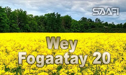 Wey Fogaatay Part 20
