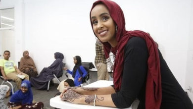 Somali-American author encourages youth to be true to selves