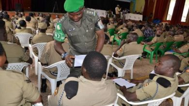 Photo of Over 300 police officers sit African Union-Somali Mission exams