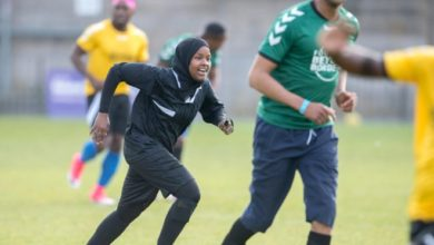 Photo of Somali-born Jawahir Roble became UK's first female Muslim referee at just 23 years old