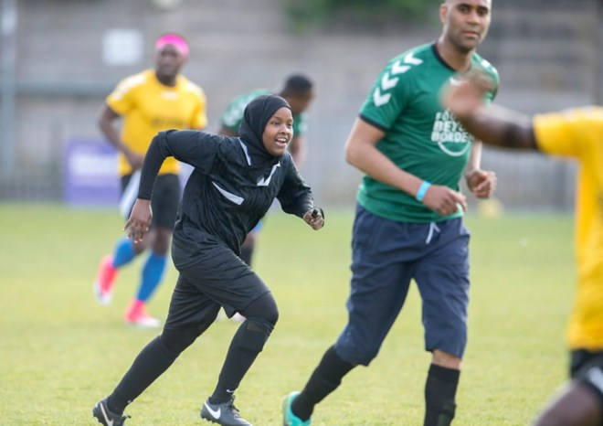 Somali-born Jawahir Roble became UK's first female Muslim referee at just 23 years old