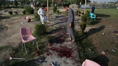 Photo of Eight killed in bomb attack on cricket match in Afghanistan