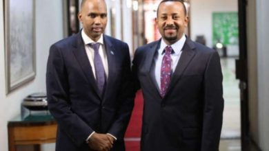 PM Khaire travels to Addis Ababa to meet Ethiopia's New PM