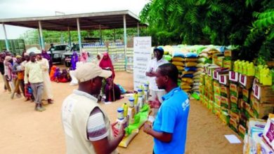 QC provides dry food supplies to Somali refugees in Kenya