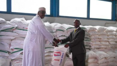 Uganda sends food assistance to flood-affected families in Somalia's Lower Shabelle region