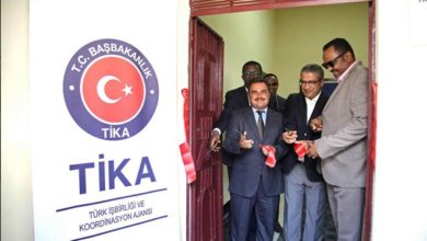 Photo of Turkish aid agency provides modern office furniture, equipment to workers' headquarters