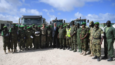 Britain boosts AU mission's efforts to stabilize Somalia