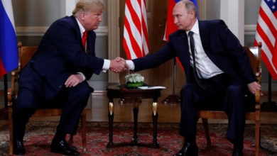 Trump meets Putin after denouncing 'stupidity' of U.S. policy on Russia