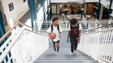 As fear and paranoia fill their Minneapolis community, two Somali teens turn to basketball