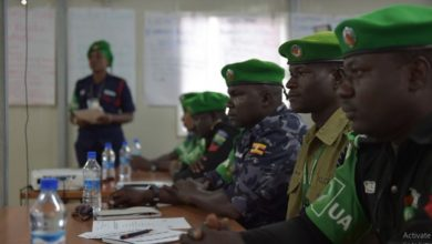 AMISOM to intensify training of Somali police officers on security maintenance